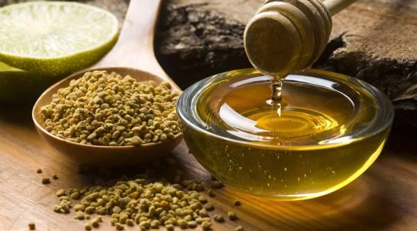 Honey, polen, propolis, royal jelly